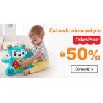 Smyk: do 50% rabatu na zabawki niemowlęce Fisher Price