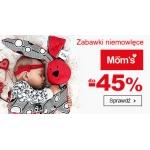 Smyk: do 45% rabatu na zabawki niemowlęce Mom's Care