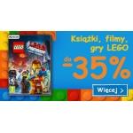 Smyk: do 35% rabatu na książki, filmy oraz gry marki Lego