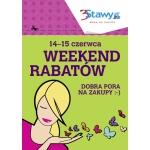 Weekend Rabatów w centrum 3Stawy w Katowicach 14-15 czerwca 2014