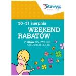Weekend Rabatów w centrum 3stawy w Katowicach 30-31 sierpnia 2014