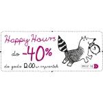 Endo: do 40% zniżki na produkty oznaczone Happy Hours do 29 września do godz. 12:00