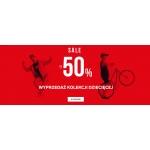4F: wyprzedaż do 50% zniżki na sportową odzież i obuwie z kolekcji dziecięcej