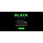 4F: Black Days 20% zniżki na odzież, obuwie i akcesoria sportowe