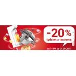 4Home: 20% zniżki na produkty marki tescoma
