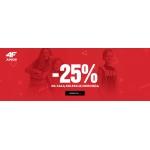 4F: 25% rabatu na kolekcję dziecięcą