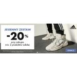 50Style: 20% rabatu przy zakupie min. 2 produktów marki Adidas