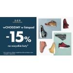 50Style: 15% zniżki na wszystkie buty
