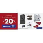 50Style: 20% rabatu na odzież i obuwie marki Umbro