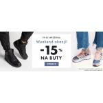 50Style: Weekend Okazji 15% zniżki na damskie, męskie i dziecięce buty sportowe