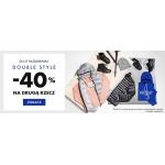 50Style: Double Style 40% rabatu na drugą sportową rzecz