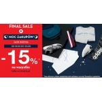 50Style: Noc Zakupów 15% rabatu na odzież, obuwie i akcesoria, także z wyprzedaży