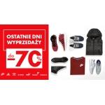 50Style: wyprzedaż do 70% zniżki na odzież, obuwie i akcesoria sportowe