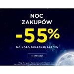 5.10.15.: Noc Zakupów 55% zniżki na całą kolekcję letnią