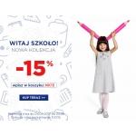 5.10.15.: 15% zniżki na odzież i obuwie dla dzieci