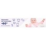 5.10.15.: do 60% rabatu na wyprawkę dla noworodka