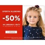 5.10.15.: 50% rabatu na ubrania i buty dla dzieci z kolekcji jesień-zima 2017