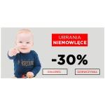 5.10.15.: 30% zniżki na ubrania niemowlęce