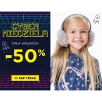 5.10.15.: Cyber Niedziela 50% rabatu na całą kolekcję odzieży dla dzieci