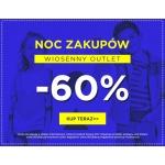 5.10.15.: Noc Zakupów 60% rabatu na odzież z kolekcji Wiosna 2017