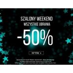 5.10.15.: weekend zniżek 50% na wszystkie ubrania