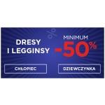 5.10.15.: minimum 50% rabatu na dresy i legginsy dziecięce