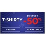5.10.15.: minimum 50% zniżki na t-shirty dziecięce