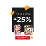 Black Monday 5.10.15.: do 25% rabatu na zabawki