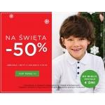 5.10.15.: 50% rabatu na odzież i obuwie dla dzieci z okazji świąt