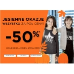 5.10.15.: Jesienne Okazje 50% rabatu na odzież dziecięcą z nowej kolekcji jesień-zima 2019