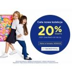 5.10.15.: 20% rabatu na odzież i obuwie dla dzieci z nowej kolekcji
