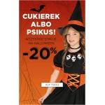 5.10.15.: 20% rabatu na wszystkie stroje na Halloween