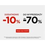 5.10.15.: dodatkowe 10% zniżki do wyprzedaży do 70%