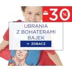 5.10.15.: do 30% rabatu na ubrania z bohaterami z bajek