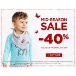 5.10.15.: wyprzedaż 40% rabatu na odzież dla dzieci z kolekcji wiosna lato 2018