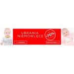 5.10.15.: wyprzedaż do 70% rabatu na ubrania niemowlęce