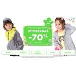 5.10.15.: wielka sezonowa wyprzedaż 70% zniżki na kurtki, t-shirty, dresy i legginsy, bluzki, sukienki dziecięce
