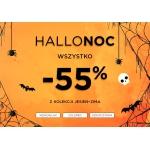 5.10.15.: HalloNoc 55% zniżki na wszystko z kolekcji jesień-zima 2019