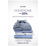 Bytom: dodatkowe 20% rabatu na wszystkie przecenione koszule
