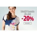 TXM24: 20% zniżki na bluzki i koszule dla niej