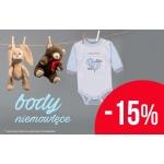 TXM24: 15% rabatu na body niemowlęce