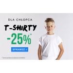 TXM24: 25% zniżki na koszulki dla chłopca