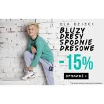 TXM24: 15% zniżki na bluzy, dresy i spodnie dresowe dla dzieci