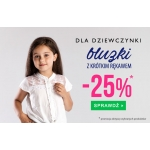 TXM24: 25% rabatu na bluzki z krótkim rękawem dla dziewczynek