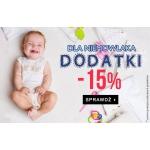 TXM24: 15% rabatu na dodatki dla niemowlaka
