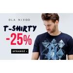 TXM24: 25% rabatu na t-shirty dla niego