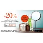 Douglas: 20% rabatu przy zakupie kosmetyków do pielęgnacji twarzy