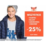 5.10.15.: 25% rabatu na wszystkie kurtki, bluzy oraz akcesoria zimowe
