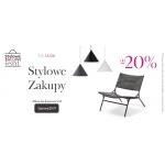 9design: Stylowe Zakupy do 20% rabatu na designerskie meble, dodatki do domu i lampy