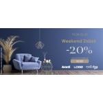 9design: Weekend Zniżek 20% rabatu na designerskie meble, lampy i dodatki